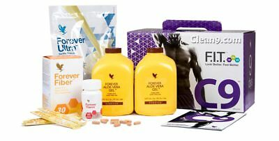 FOREVER LIVING-Clean 9 Pack-C9 Kit. Cleanse 9 Day. Chocolate / Vanila