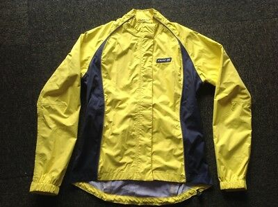 Netti Lite Hook safety yellow & black waterproof cycling jacket size S/10 as new