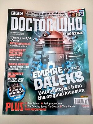 Doctor Who Magazine Issue 522 Empire of the Daleks