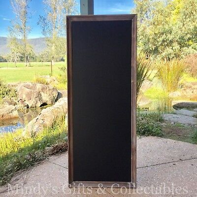 158cm Long Framed Wooden Balckboard Chalkboard Wedding Restaurant Menu Board