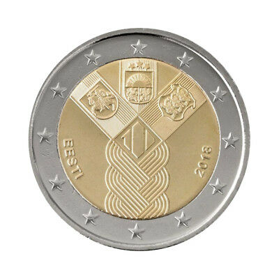 "Estonia 2 Euro commemorative coin 2018 - ""Indenpendence"" - UNC"