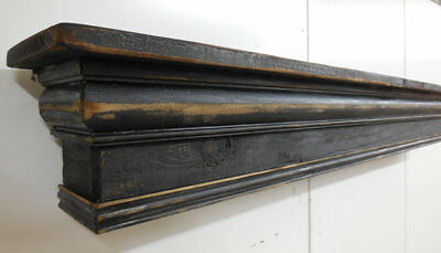 Mantel shelf, French Country Mantle Shelf, Primitive Mantel shelf, 72 inches