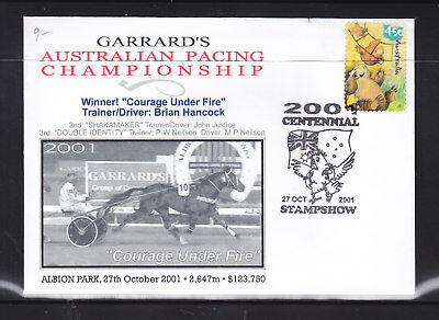 "Souvenir Cover: 2001 Australian Pacing Championship  ""courage Under Fire"""