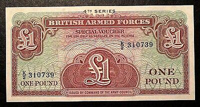 1 Pound 1962 BRITISH ARMED FORCES K/2 310739 4th SERIES