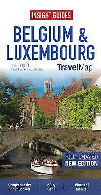 Insight Travel Map: Belgium & Luxembourg (Insight Travel Maps), , New Book