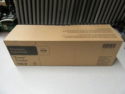 Brand New Un-Opened Oce 794-3 Toner Cartridge