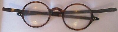 PAIR OF EARLY SPECTACLES / GLASSES & Case