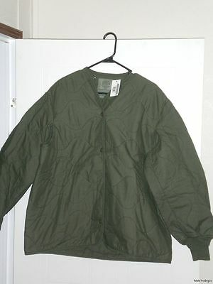New AirCrew Flyers Jacket Coat Liner Large Fire Resistant Aramid Nomex Military