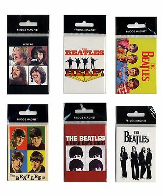 Magnet Beatles (The) Assortiment de 6 magnets en métal, The Beatles