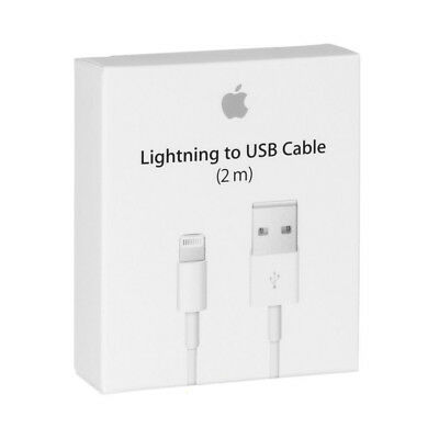 New 2M/6feet OEM Apple Lightning USB Cable Charger iPhone X 8 7 6 6S Plus 5C