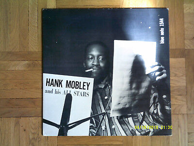 Hank Mobley And His All Stars  Blue Note 1544  Original First Deep Groove Lp