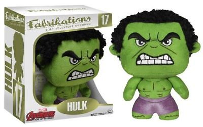 Fabrikations: Avengers 2 Hulk - 17 Soft Sculpture 6 inch Articulation Fabric New