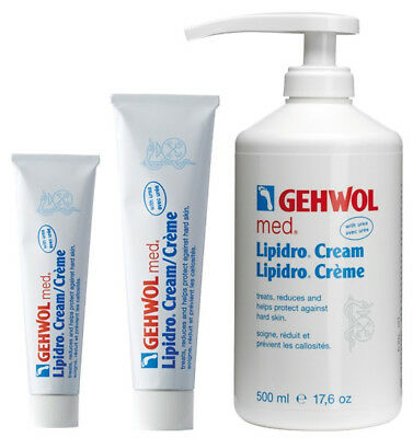 Gehwol Med Lipidro Foot Cream | Soothes Inflammation & Balances Hydrolipids