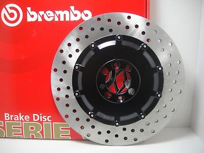 Disco Freno Posteriore Brembo 68B407D3 Bmw K 100 (No Abs) 1000 1983 1984 1985