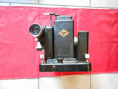 AGFA proektor MOVECTOR 16C 16 mm Lens Agfa oppotar F 5 cm 1931 Year