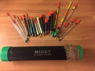 Commercial Wagglers X 22 Inc. Preston Pellet DH Drennan and Maver In Middy Tube