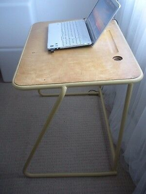 Beautiful Vintage 1960s/1970s Birch and Steel School Desk