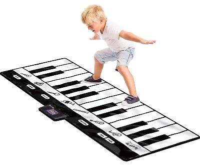 Play Floor Piano Kid Stepping Toys Electronic Keyboard Giant Mat Dance Exercise