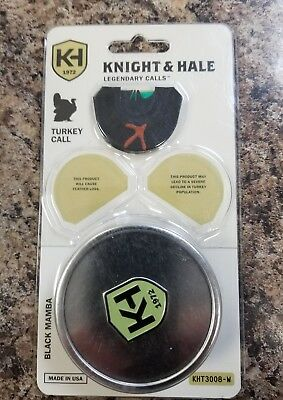5106 Knight /& Hale Long Spur Slate Pot Turkey Call