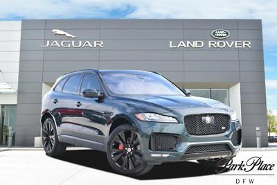 2017 Jaguar F-pace S Sport Utility 4-Door 22 inch Wheels Head Up Display Comfort & Convenience Pack Technology Pack