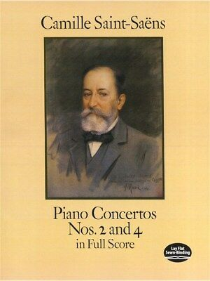 Camille Saint-Saëns: Piano Concertos Nos. 2 And 4 In Full Score. Sheet Music