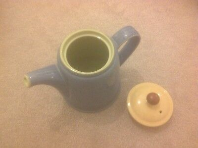 Denby Juice Large Teapot in Blue, Yellow & Green
