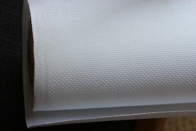 Cross Stitch Aida Fabric Cloth - 14ct (count) white, 120cm X 50cm