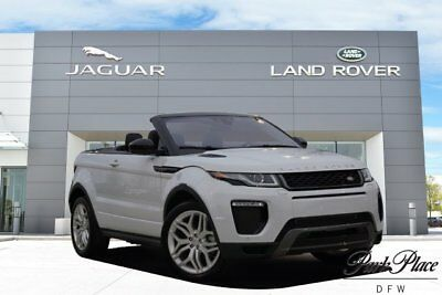2016 Land Rover Evoque  Convertible Cold Climate Convenience Pack Xenon Headlamps 20 inch Wheels