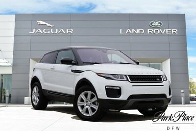 2016 Land Rover Evoque  Coupe Cold Climate Pack Black Roof HD Radio 18 inch Wheels