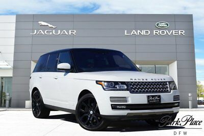 2016 Land Rover Range Rover  CERTIFIED Vision Assist Pack Black Roof 22 inch Wheels Adaptive Cruise
