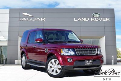 2015 Land Rover LR4 HSE Sport Utility 4-Door CERTIFIED HSE Xenon Headlamps HD & Satellite Radio Climate Comfort Pack