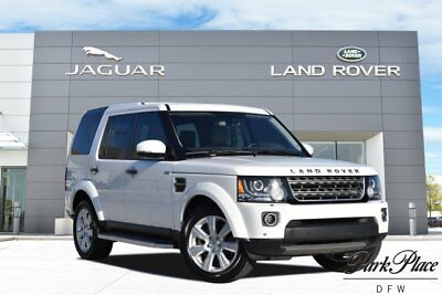 2015 Land Rover LR4 HSE Sport Utility 4-Door CERTIFIED HSE Premium Audio System HD and Satellite Radio Vision Assist Pack