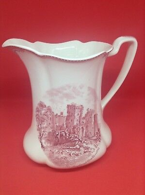 Johnson Brothers Old Britain Castles Pink Pitcher 6.75""