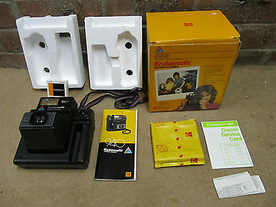 1983/84 Instant Kodamatic 940 Camera boxed with rare KODAK film pack HS 144-10