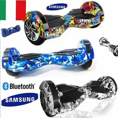 Hoverboard 8 Pollici Smart Balance Overboard Pedana Scooter Bluetoot Sottocosto