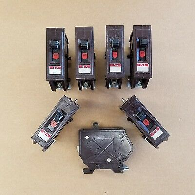 Wadsworth 15A 1P Circuit Breaker Type A