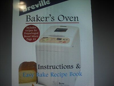 BREVILLE BB290 BREADMAKER ,Gluten free  Tin has With drop down paddle