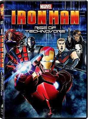 USED DVD -  Iron Man: Rise of the Technovore Bilingual - 88min
