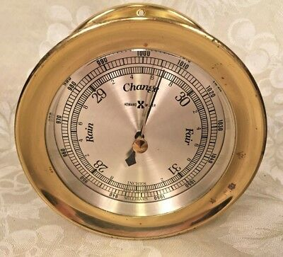 Howard Miller Porthole Style Barometer Working?