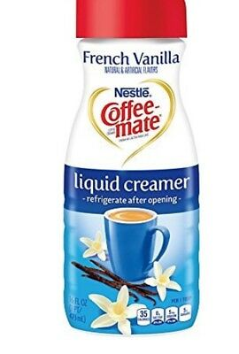Coffee Mate Coffee Creamer Liquid French Vanilla 6 16 Oz