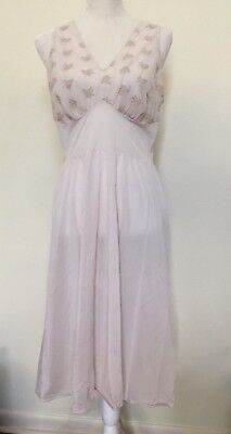 Van Raalte Light Pink Vintage Women's Beautiful Slip Size Medium