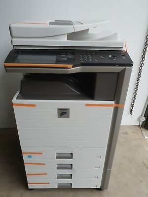 Sharp MX-M453N Digital Mono Copy, Network Print,Scan,email,Fax, 45ppm, ADF