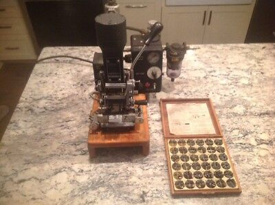 Kingsley Atd S1 Hot Foil Stamping Machine With Box Of Stamps