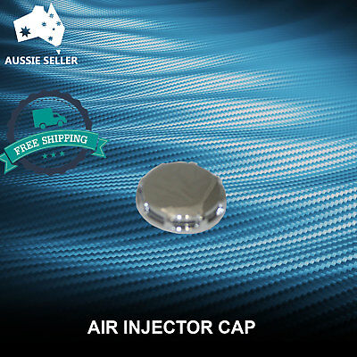 Spa Bath Air Injector Cap chrome