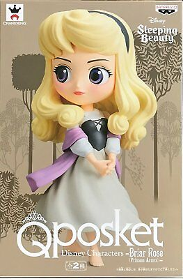 Q posket Princess Aurora figure Disney Characters Briar Rose Rare ver Japan NEW