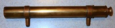 Antique Brass and Copper Mountable 11 inch Spotting Scope or Telescope
