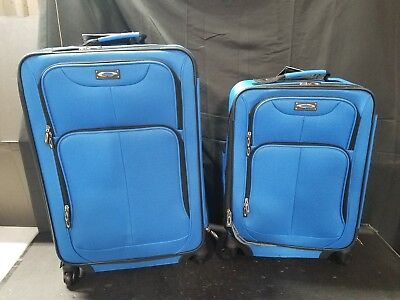 """Kemyer 1000 Plus Series 2-PC Expandable Spinner Luggage Set (20"""" & 24"""" ONLY)"""