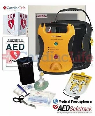 Defibtech Lifeline Semi-Auto AED Value PackWith 8 Year Mnfctr. Warranty