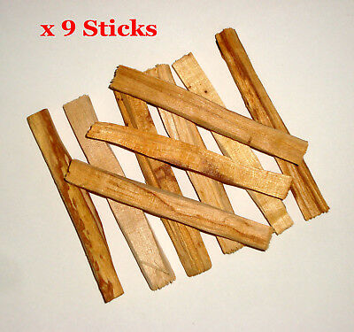 PALO SANTO Holy Wood Incense / Smudge Sticks – 8 Sticks + 1 FREE Stick= 9 Sticks