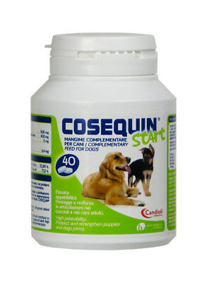 COSEQUIN START mangime complementare per cani 40 capsule